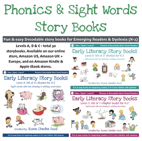 Phonics and Sight Words Storybooks