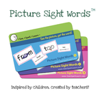 Picture Sight Words flashcards