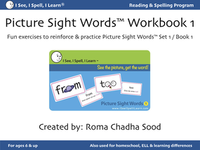 Picture Sight Words Workbook1